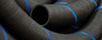 Rubber hoses for industrial applications