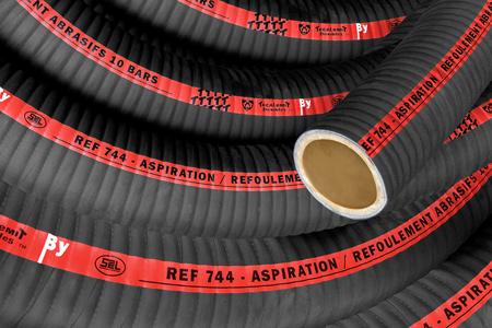poudre Tuyau d/'aspiration l/éger et flexible en PVC copeaux tuyau pour eau air farine Flexible en PVC de 30 mm de longueur au m/ètre