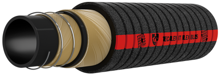 166 tuyau flexible caoutchouc